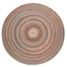 annie wheat field 4 ft x 4 ft round indoor braided area rug