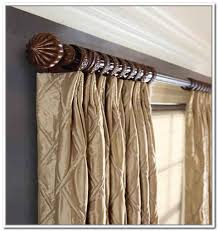 Curtain Mesmerizing Thick Rods Woodcover