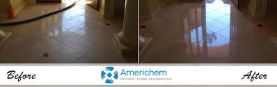 travertine is a sedimentary rock formed of calcium carbonate and as a base is the chemical opposite of an acid material therefore cleaning with acidic