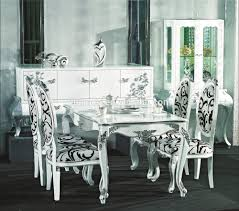 Ornate Design Series Dining Set Square Dining Table And Chairs