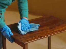 How to Strip Sand and Stain Wood Furniture how tos