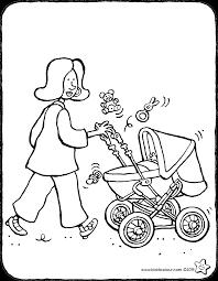 Walking With The Baby Kiddicolour