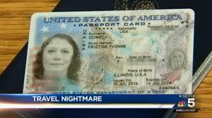 Sent Card Home Passport Puerto Arriving Woman Over Vallarta To