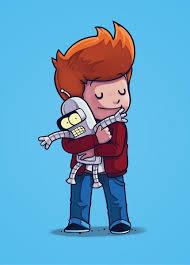 <b>Fry & Bender</b> - Poster - Naolito