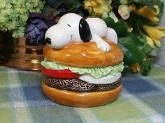Image result for burger snoopy