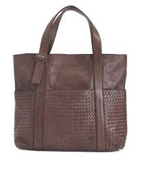 details about valentina new women s made in italy woven leather tote handbag free nwt