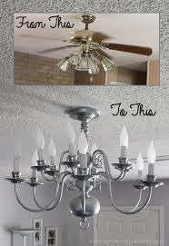 it replaced a blank630x20 a simple chandelier makeover using a chandelier found at a thrift it replaced a blank630x20