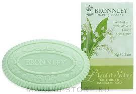 Bronnley Lily Of The Valley <b>Triple Milled Soap</b> - <b>Мыло</b> для тела ...