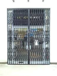 retractable gate external security for stairs retractable gate