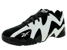 reebok basketball shoes. reebok black and white shoes | men\u0027s kamikaze ii low basketball shoe mens a