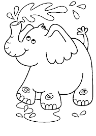 Small Picture Stunning Elephant Coloring Pages Contemporary New Printable