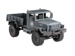 <b>Радиоуправляемый краулер WPL</b> Military Truck 4WD RTR - WPLB ...
