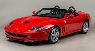 Ferrari 550 Barchetta For Sale Two Previous Owners Extra Low Mileage Carscoops