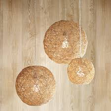 hemp twine ball lamp inspiration