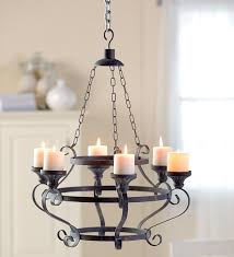iron pillar candle holder chandelier 87323 iron pillar candle holder chandelier