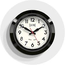 wall clocks for office. Small Black Retro Wall Clock | Office Newgate Clocks Electric 44K -  Homeware Wall Clocks For Office C
