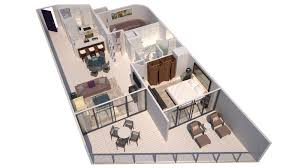 Miami 2 Bedroom Suites Hotels In Miami W South Beach