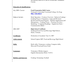 Sample Resume For Highschool Graduate Exceptional Resume Format For High School Students With No 35