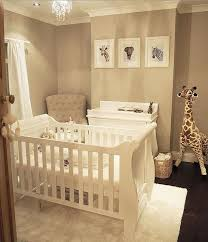A simple yet effective gender neutral nursery! How stunning are the animal  prints? Perfect to complement our Boori Sleigh cot bed and matching 3  drawer ...