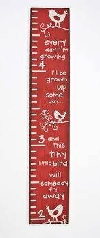 Cute Growth Chart Sayings 11 Best Growth Charts Images Growth Chart Ruler Growth