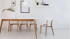 modern oak dining table large extending dining set