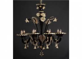 handicraft venetian chandelier urano murano glass artistic works