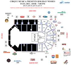 Ppl Center Allentown Pa Seating Chart Cirque Musica Presents Holiday Wishes Ppl Center