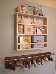 wall mounted diy shoe holder storage under bookshelf and furniture display shelves ideas