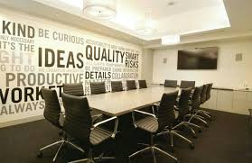 office meeting ideas. Interior, Modern Coolest Conference Rooms Small Office Meeting Room Design With Beige Finish Solid Wood Table Plus Black Leather Chair Ideas