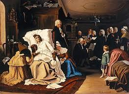 Смерть Вольфганга Амадея Моцарта Википедия  Последние дни жизни Моцарта художник Г фон Каульбах 1873 г
