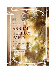Work Christmas Party Flyers Christmas Office Com