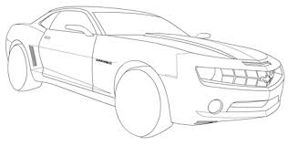 Small Picture Chevrolet Camaro coloring page Free Printable Coloring Pages