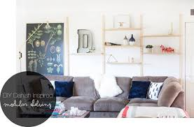 it s no surprise that i love the scandinavian and mid century design i ve been drooling over the amazing shelving units floating around the web but had a