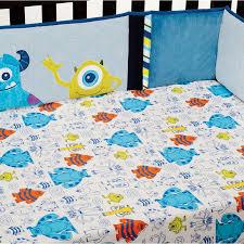 monster crib bedding