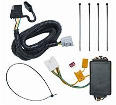amazon com tow ready 118255 4 flat tow package wiring harness tow ready 118255 4 flat tow package wiring harness