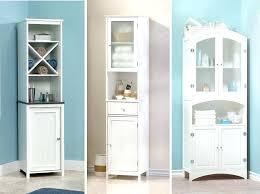 Tall White Bathroom Storage Cabinet Impressive Tall White Bathroom