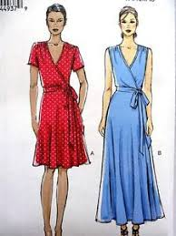Wrap Dress Sewing Pattern Beauteous 48 Best Wrap Dress Patterns Images On Pinterest Wrap Dress