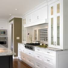 Rectangular Kitchen Tiles Recessed Backsplash Kitchen Transitional With White Wood