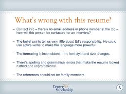 Why It S Time To Update Or Write Your Resume Ppt Download