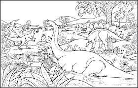 Dinosaur Coloring Pages To Print Printable Dinosaurs Coloring Pages