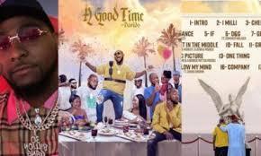 Davidos A Good Time Becomes 1st Nigerian Album To Reach No