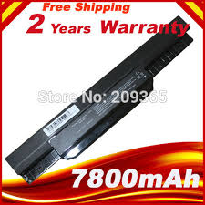 <b>7800mAh</b> Laptop <b>battery For ASUS</b> K53 K53B K53BY K53E K53F ...