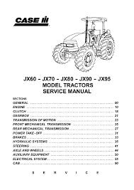 John Deere Tractor Refrigerant Capacity Chart Case Ih Jx90 Tractor Service Repair Manual
