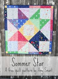 Sarah Jane's Sommer Fabric and Quilt Patterns | Fabrics, Patterns ... & Sarah Jane's Sommer Fabric and Quilt Pattern - Diary of a Quilter - a quilt  blog Adamdwight.com