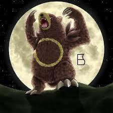 Teddy Bear Moon Pokemon