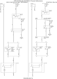 ford mustang l mfi ohv hp cyl repair guides wiring 35 1993 96 mazda 626 mx 6 chassis schematics