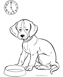 Small Picture Printable dog coloring pages