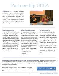 Professional Goals List 2017 Spring Newsletter By Ucla Issuu
