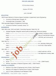 Resume Responsibilities Job Application Letter Format Template Best