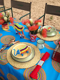 south african decor: table decor proudly sa party  table decor proudly sa party
